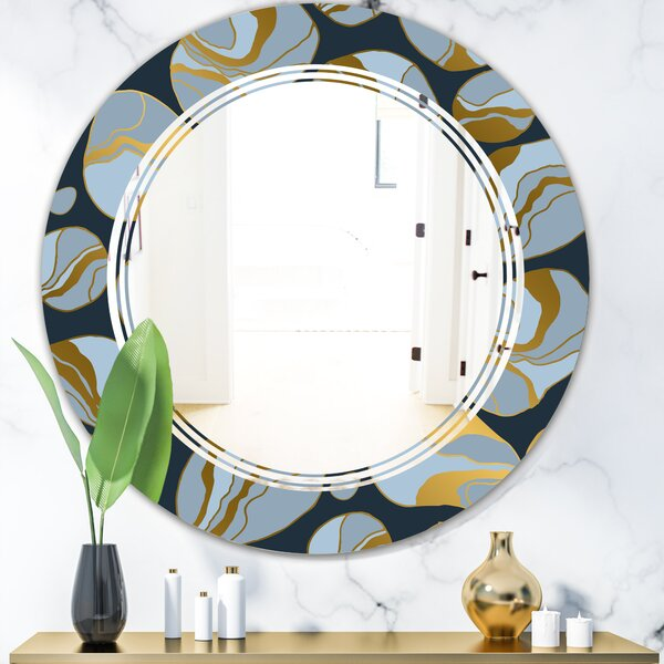Triple C Marble Design IV Modern Frameless Wall Mirror