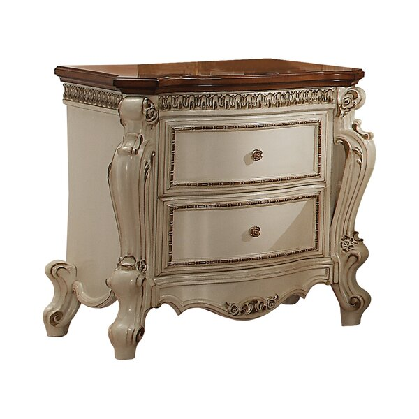 Curcio 2 Drawer Nightstand by Astoria Grand