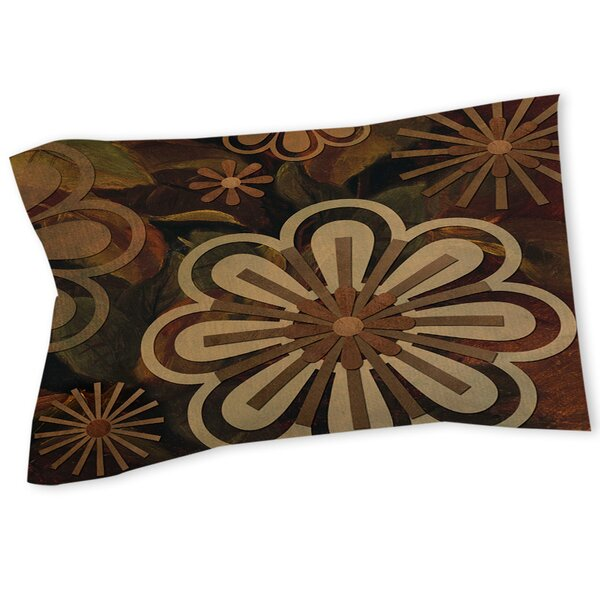 Floral Abstract II Sham by Manual Woodworkers & Weavers