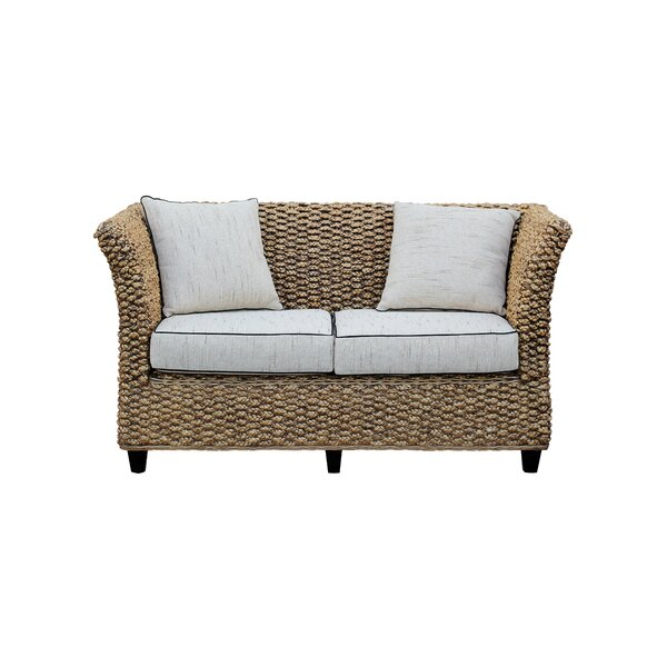 Water Hyacinth Rome Loveseat By Chic Teak