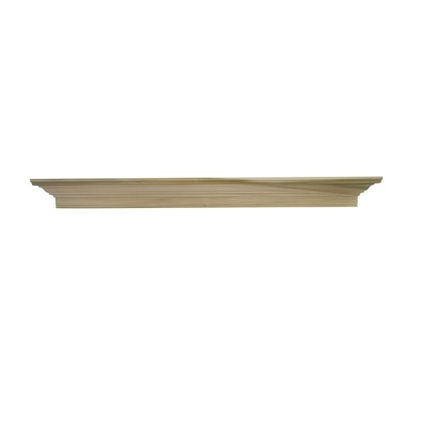 Darlington Fireplace Mantel Shelf by MantelCraft