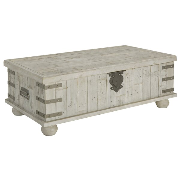 Leandro Lift Top Coffee Table With Storage By Rosalind Wheeler
