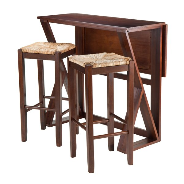 Brayan 3 Piece Drop Leaf Dining Set by Latitude Run