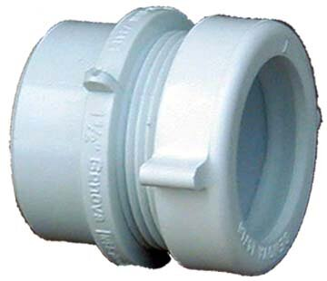 40 PVC-DWV Fitting Trap Adapter by GenovaProducts