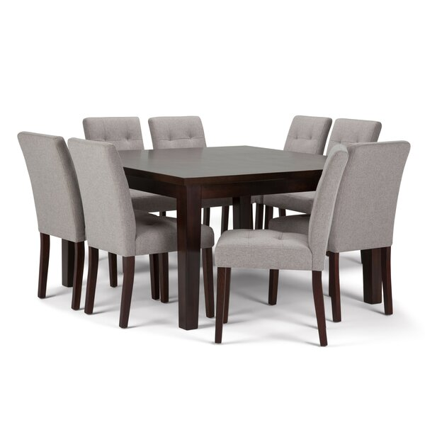 Washtenaw 9 Piece Solid Wood Dining Set by Red Barrel Studio