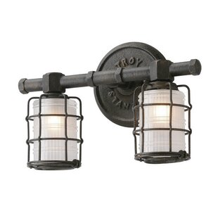 Inexpensive Demarest 2-Light Vanity Light By Williston Forge