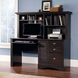 Buy luxury Pinellas Computer Desk with Hutch By Beachcrest Home