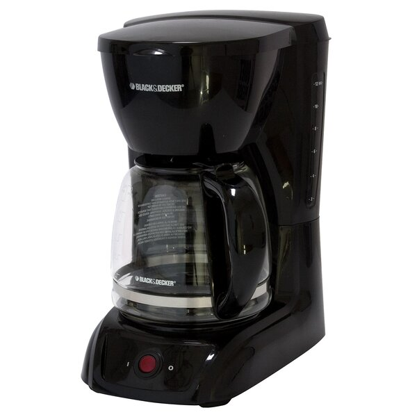 12 Cup Switch Coffee Maker by Black + Decker
