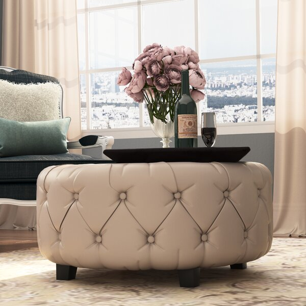 Khader Cocktail Ottoman by Willa Arlo Interiors