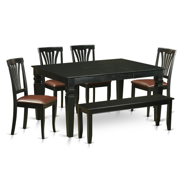 Bargain Weston 6 Piece Dining Set By Wooden Importers 2019 Sale