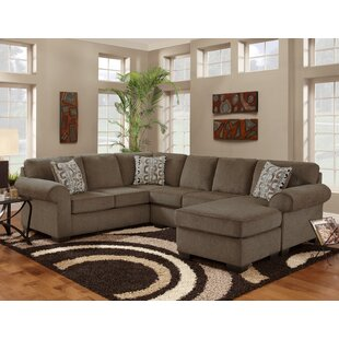Melvina Reversible Sectional Red Barrel Studio