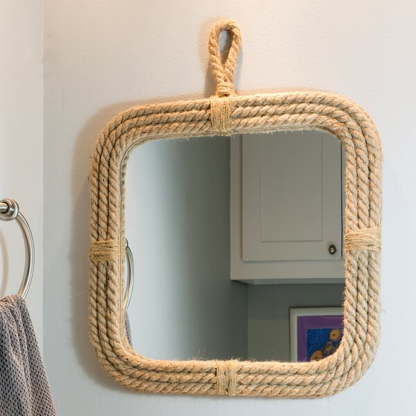Widcombe with Loop Hanger Accent Mirror by Breakwater Bay