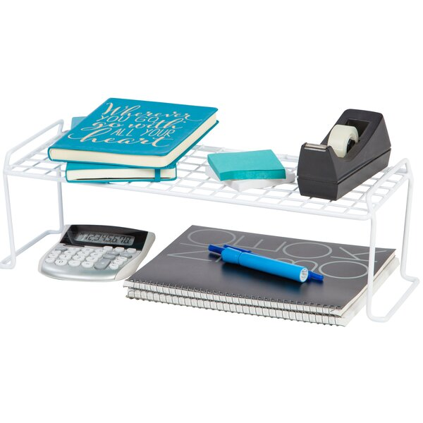 Medium Long Stacking Helper Shelf by IRIS USA, Inc.