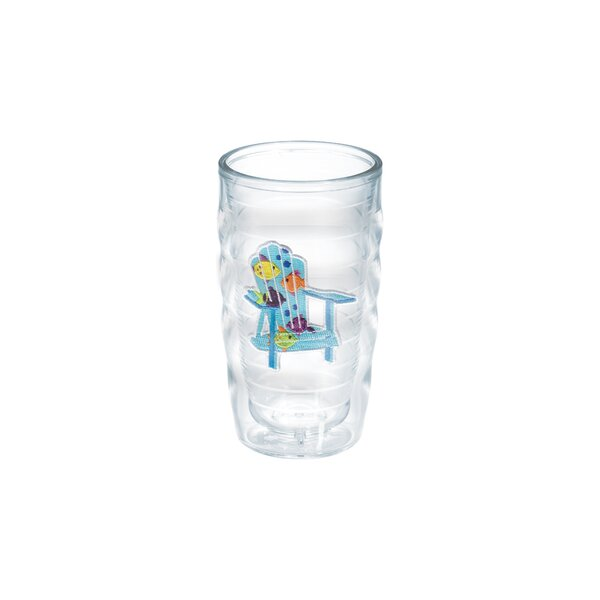 Sun and Surf Adirondack Chair Tropical Fish 10 Oz. Wavy Tumbler by Tervis Tumbler