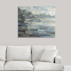 'Beach' by Brooke Borcherding Graphic Art on Wrapped Canvas by Great Big Canvas