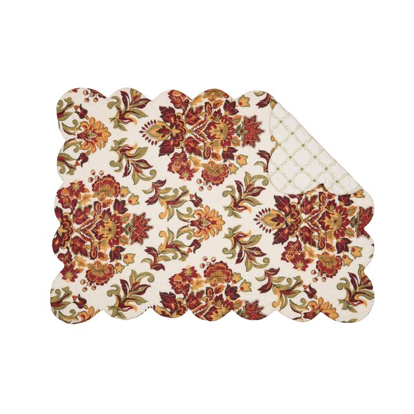 Agnes 19 Placemat (Set of 6) by C&F Home