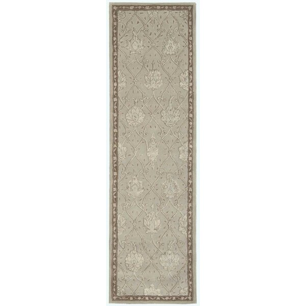 Fraserburgh Beige/Blue Cloud Area Rug by Darby Home Co