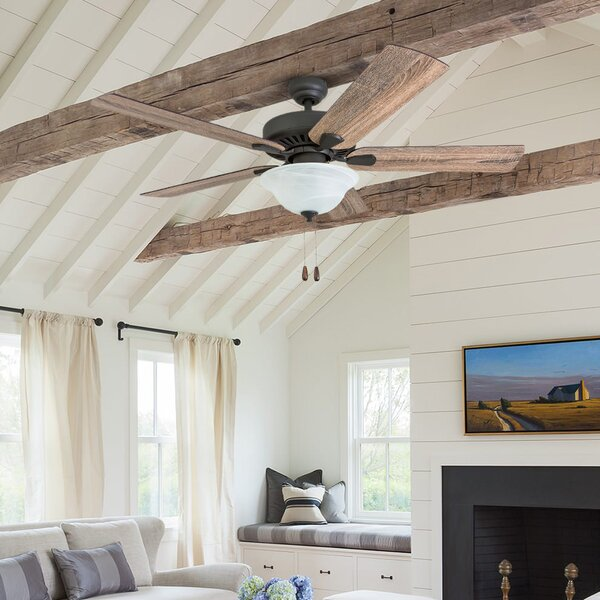 52 Tyrell 5 Blade LED Ceiling Fan by Millwood Pines