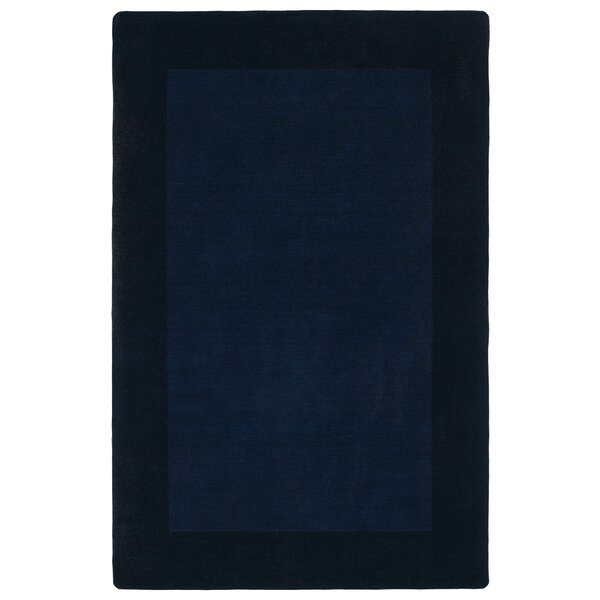 Attles Solid Kids Navy Area Rug by Red Barrel Studio
