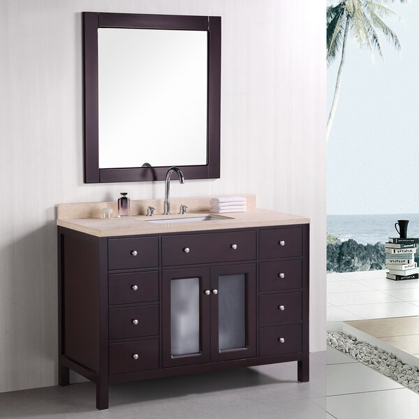 McQueen  48 Single Bathroom Vanity Set by dCOR design
