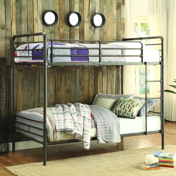 Gower Twin over Twin Bunk Bed by Viv + Rae