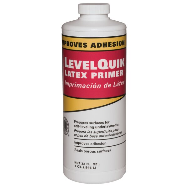 Level Quik Latex Primer 32 Oz by Custom Building ProductsLevel Quik Latex Primer 32 Oz by Custom Building Products