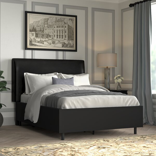 Okolona Upholstered Standard Bed by Greyleigh