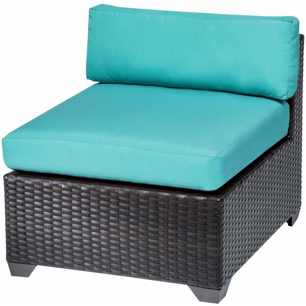 Medley Patio Chair with Cushions (Set of 2) by Rosecliff Heights