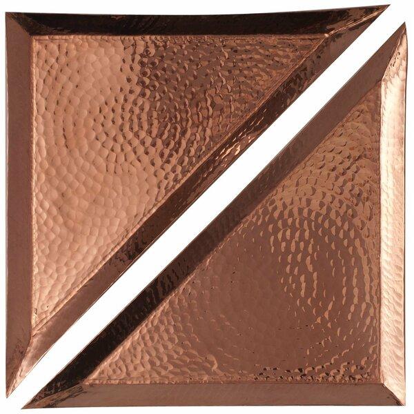 Aleppo Triangle Platter (Set of 2) by Sertodo Copper