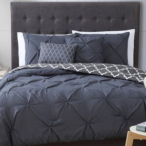 Gray Bedding Silver Bedding Sets Youll Love Wayfair - Blue and grey comforter sets