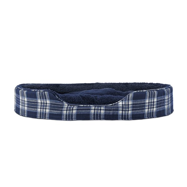 Evie Terry and Plaid Pet Bed by Archie & Oscar