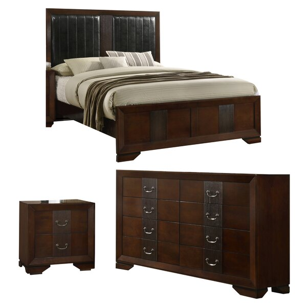Foote Upholstered Standard Configurable Bed Set by Winston Porter