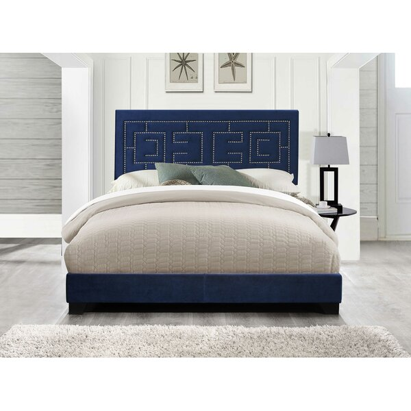 Coston Upholstered Standard Bed by Everly Quinn