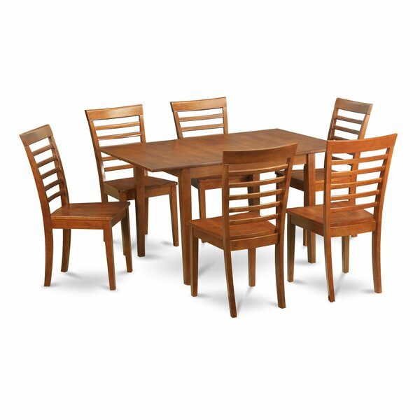 Lorelai Solid Wood Dining Set by Alcott Hill Alcott Hill