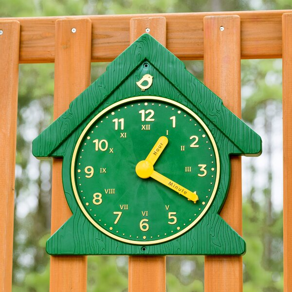 Fun Time Swing Set Clock by Gorilla Playsets