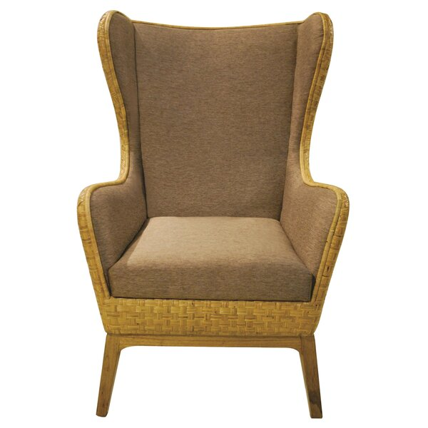 Marquez Wingback Chair by Bayou Breeze