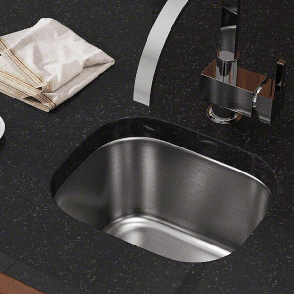 Stainless Steel 15 x 13 Undermount Bar Sink by MR Direct