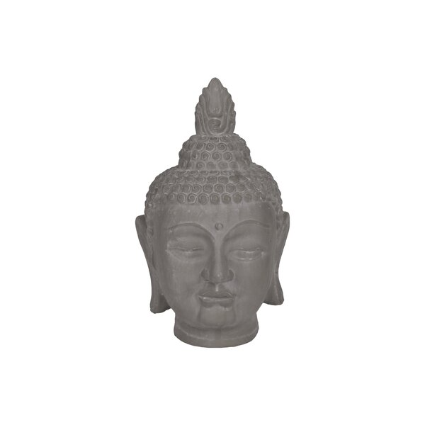 Chessani Buddha Head Figurine by World Menagerie