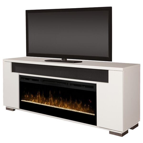 Barnett Soundbar Firebox 76 TV Stand with Fireplace by Brayden Studio