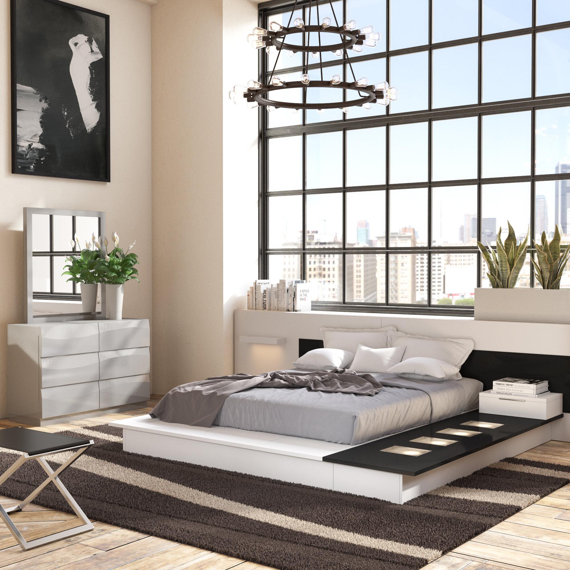 Wade Logan Sabra Platform 2 Piece Bedroom Set Reviews Wayfair