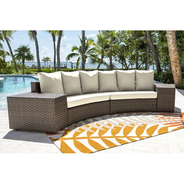 Big Sur Patio Sectional with Cushions by Panama Jack Outdoor Panama Jack Outdoor