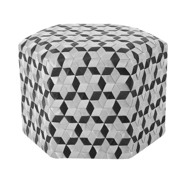 Chartrand Ottoman by Bungalow Rose