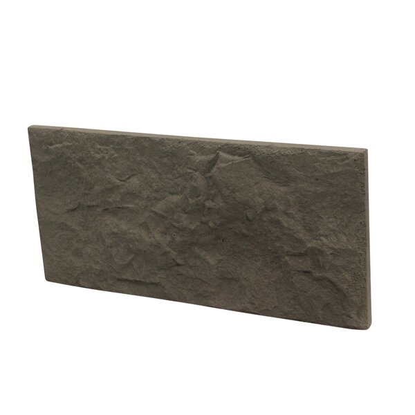 Euroc 5 x 11 Manufactured Stone Veneer Wall Tile in Gray (Set of 10) by Stone Design