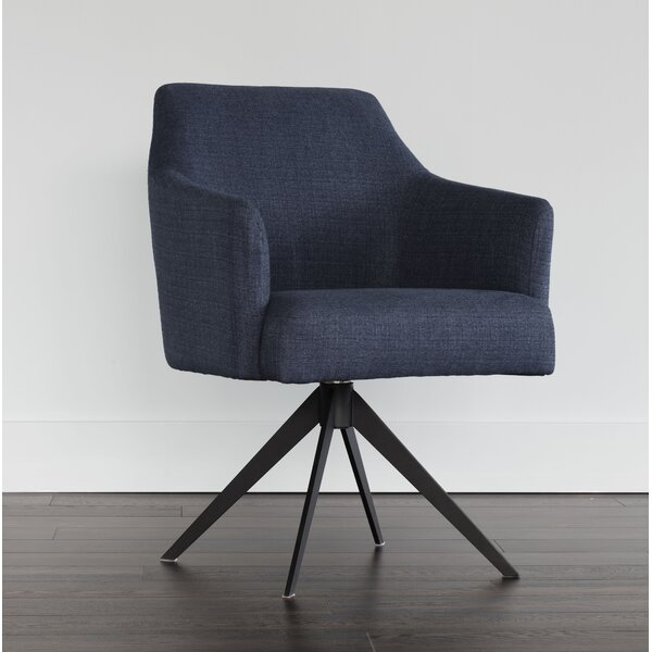 5West Swivel Armchair by Sunpan Modern
