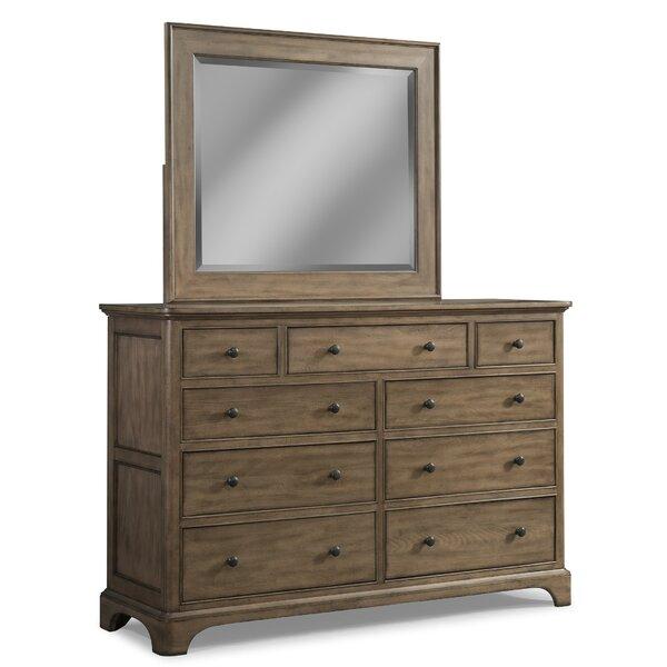 Guttenberg 9 Double Dresser with Mirror by Loon Peak