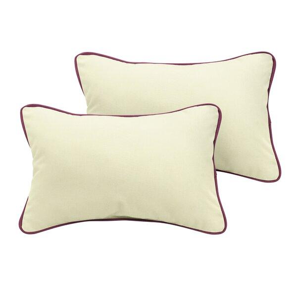 Dace Sunbrella Outdoor Lumbar Pillow (Set of 2) by Red Barrel Studio