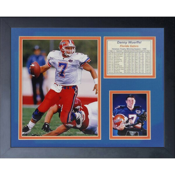 Danny Wuerffel Framed Memorabilia by Legends Never Die