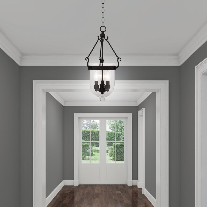 Foyer Ceiling Queen : Darby home co lauder foyer pendant reviews wayfair