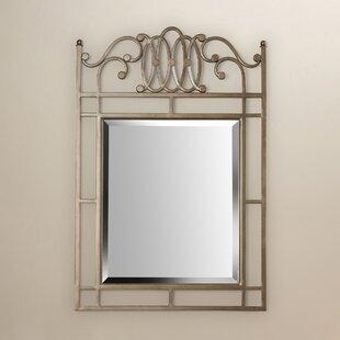Astoria Grand Copenhagen Silver Console Wall Mirror
