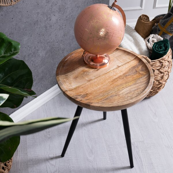 Isai 3 Legs End Table By Foundry Select